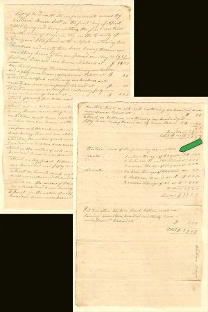 Document for 13 Slaves - SOLD