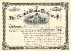First National Bank of Birdsboro, Pa.