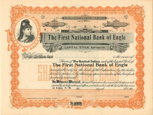 First National Bank of Engle