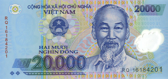 Vietnam 20.000 Dong P-120 - SOLD