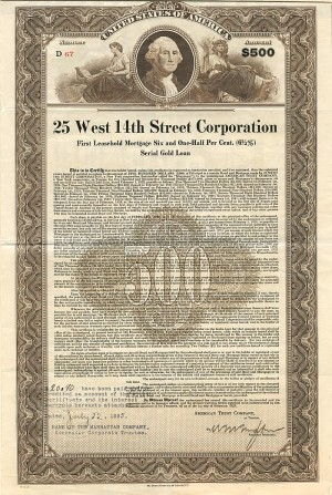 25 West 14th Street Corporation