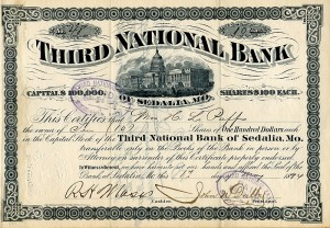 Third National Bank of Sedalia, Mo.