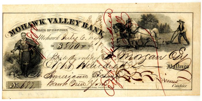 Francis Spinner - Signed Check