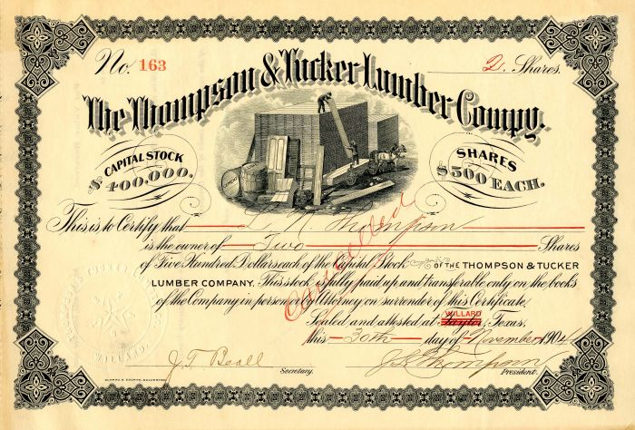 Thompson & Tucker Lumber Company