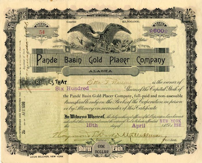 Pande Basin Gold Placer Company