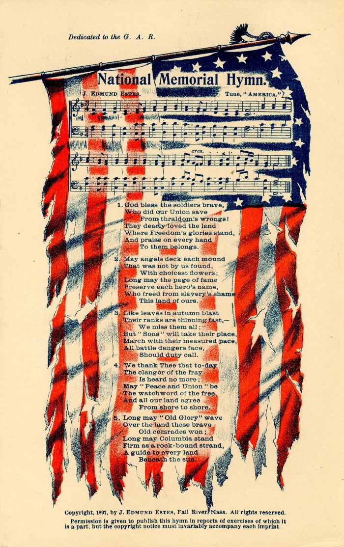 Civil War Songsheet