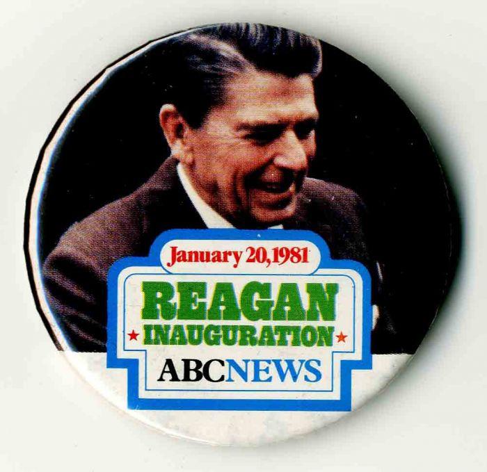 Reagan Inauguration Pin