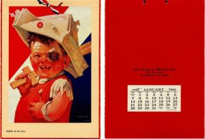 "Sample Calendar of the ""Conquering Hero"""