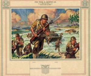 WWII Calendar - Semper Fidelis <br> (Always Faithful)