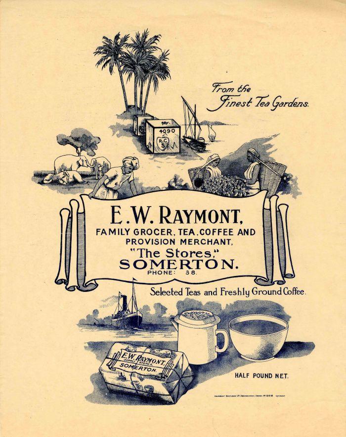E.W. Raymont Advertisement