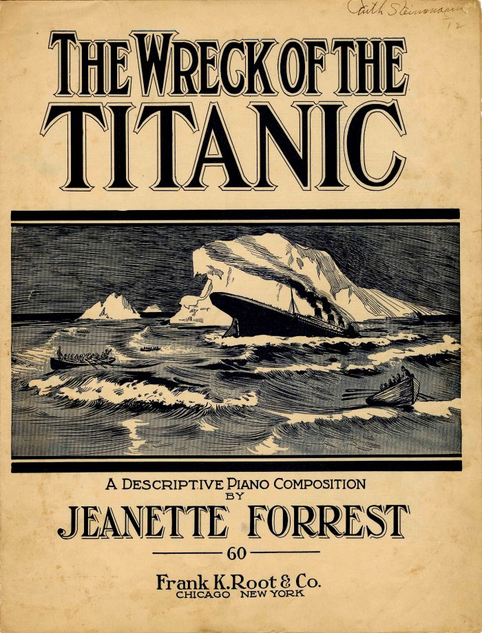 The Wreck of the Titanic Music Sheet