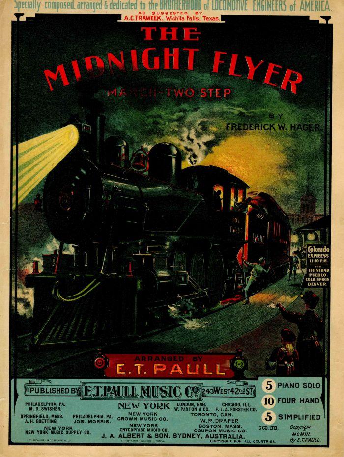 The Midnight Flyer Music Sheet