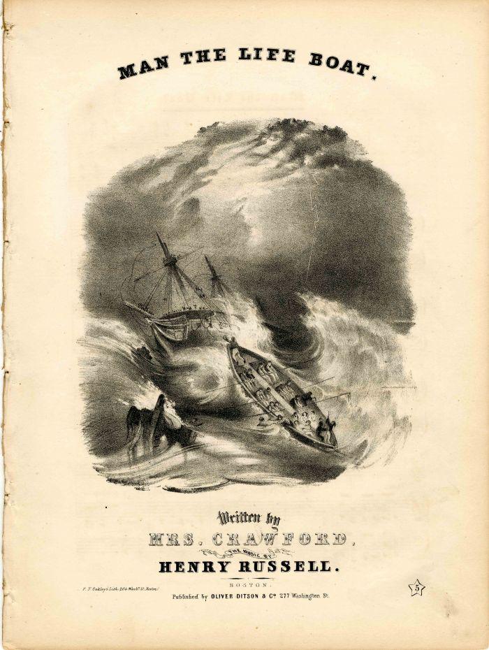 Man The Life Boat Music Sheet