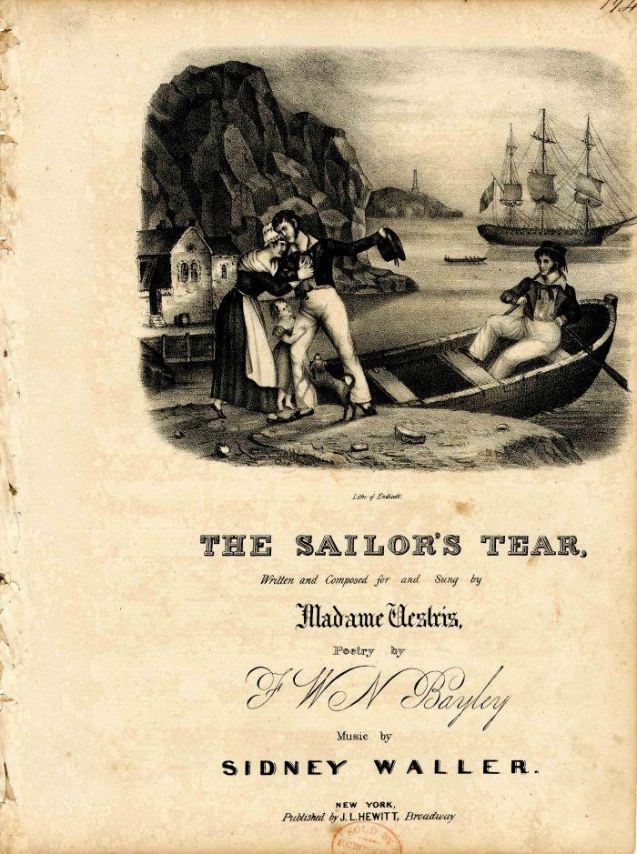 The Sailor's Tear Music Sheet