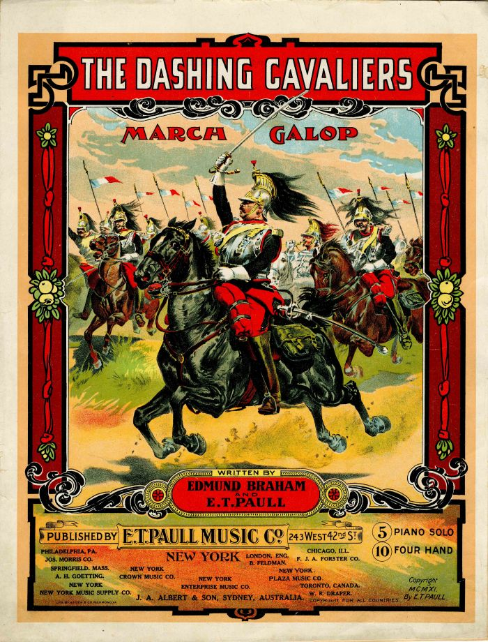 The Dashing Cavaliers Music Sheet