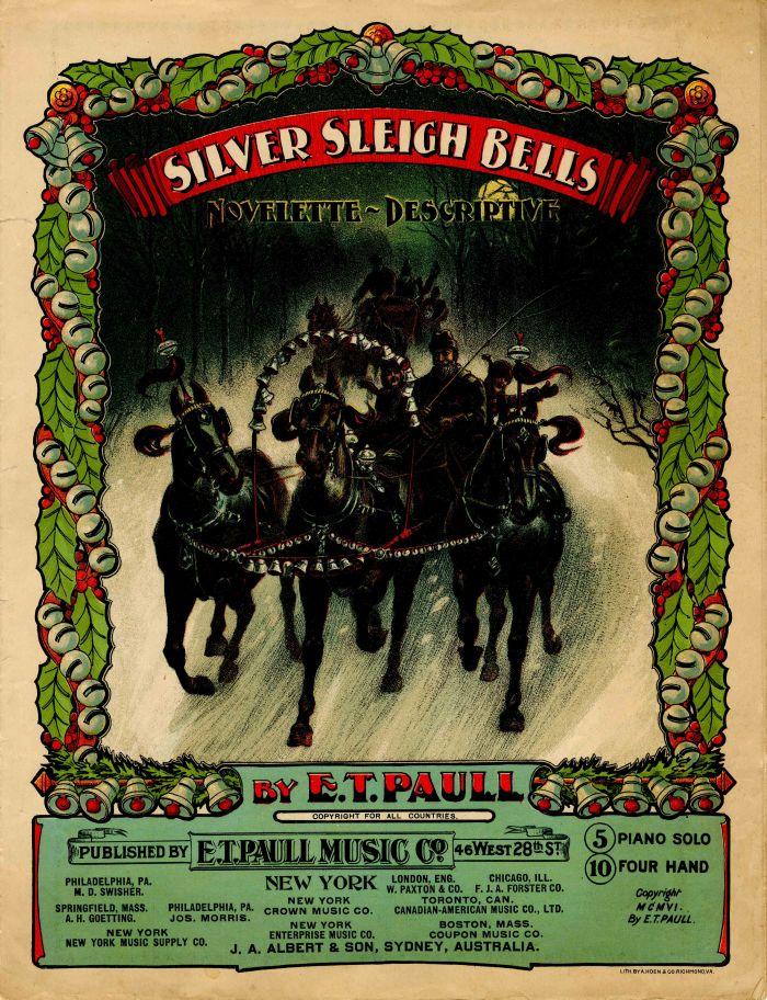 Silver Sleigh Bells Music Sheet
