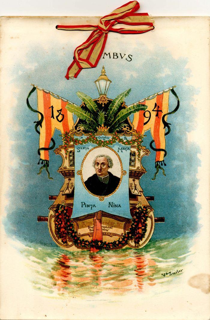 1894 Complete Calendar