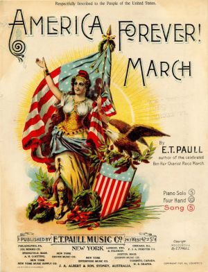 America Forever! March Music Sheet