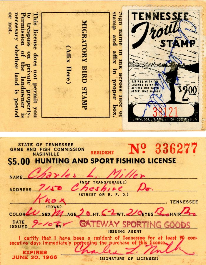 Hunting and Sport Fishing License - Americana