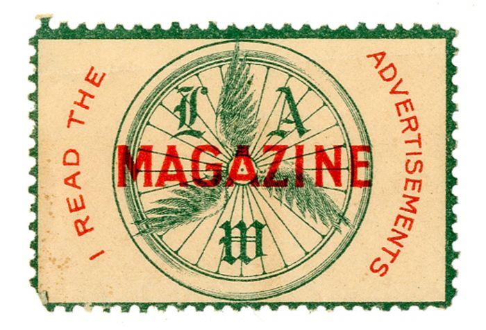 Stamp for League of American Wheelmen - Americana