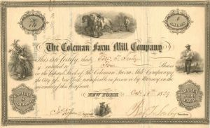 Coleman Farm Mill Company - SOLD
