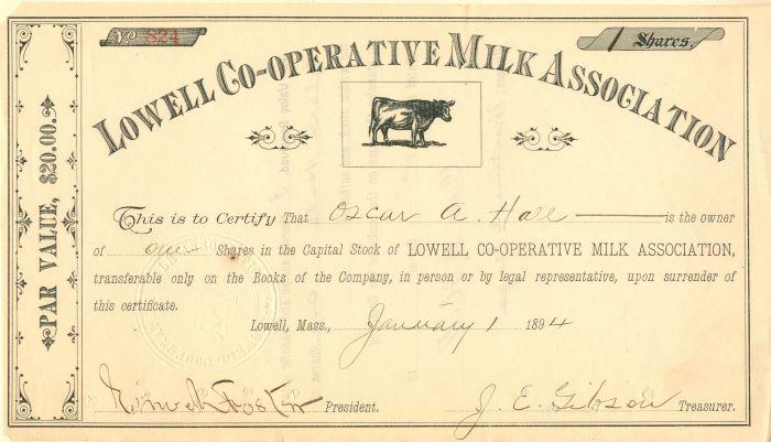 Lowell Co-Operative Milk Association
