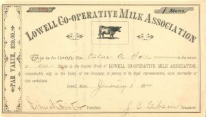 Lowell Co-Operative Milk Association