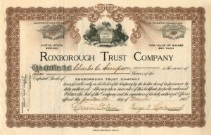 Roxborough Trust Company