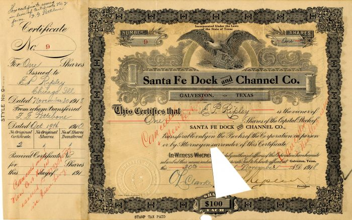 Santa Fe Dock and Channel Co.
