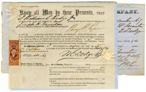 3 Stock Documents signed by Wm. E. Dodge and David L. Dodge