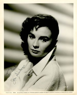 Autographed Photo of Jean Simmons