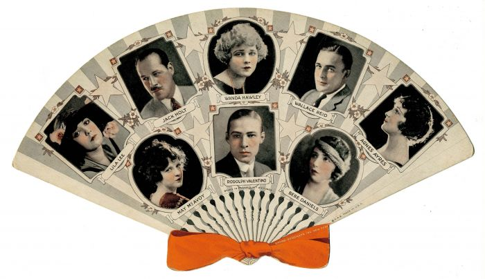 Advertisement Fan featuring Stars in Paramount Pictures