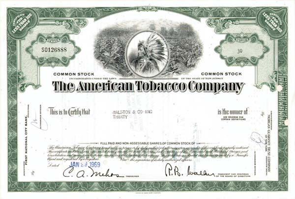 American Tobacco Co. - 100 Pieces