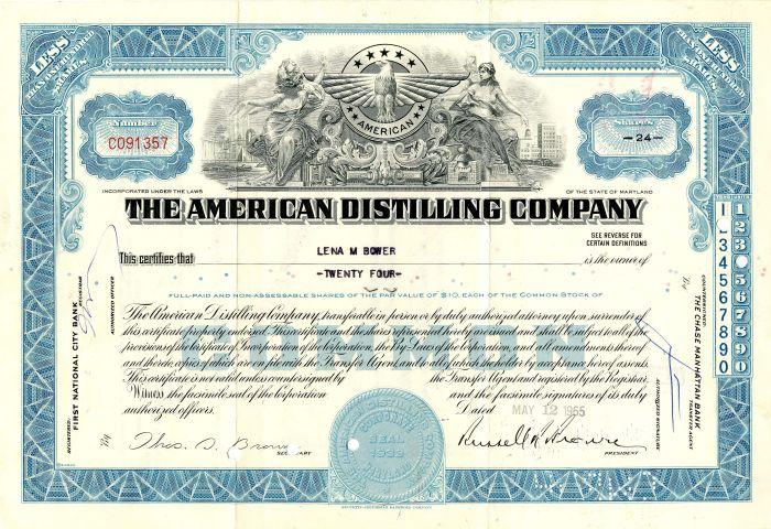 American Distilling Company