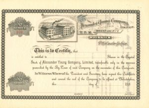 Alexander Young Company Limited - Stock Certificate