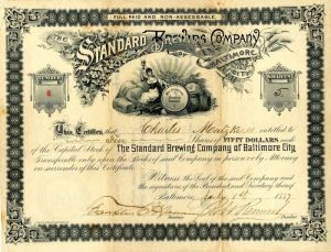 Standard Brewing Company of Baltimore