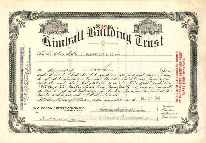 Kimball Building Trust