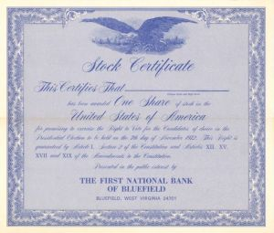 First National Bank of Bluefield