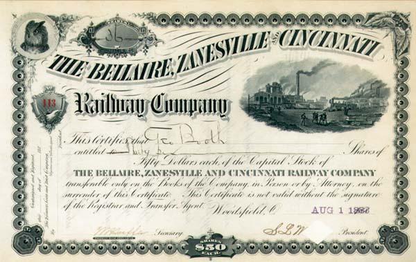 Bellaire, Zanesville & Cincinnati Railway