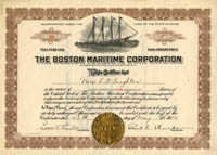 Boston Maritime Corporation - SOLD