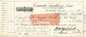 Canada Southern Line Check