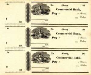 Albany Commercial Bank Checks