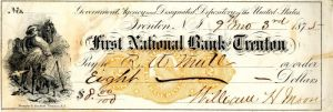 First National Bank of Trenton -  Check