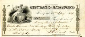 City Bank of Hartford - Check