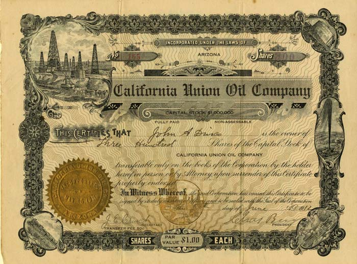 California Union Oil Company