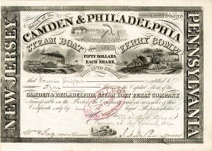 Camden & Philadelphia Steamboat Ferry Co