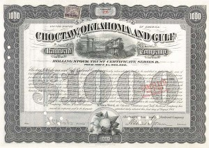 Choctaw, Oklahoma & Gulf Railroad