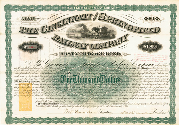 Cincinnati & Springfield Railway