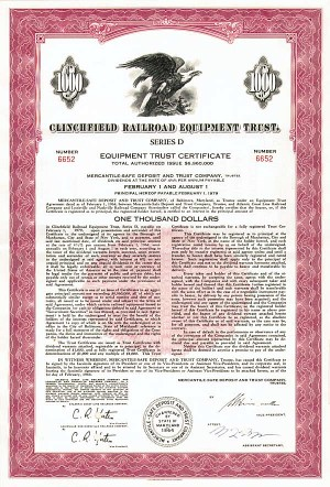 Clinchfield Railroad Equipment Trust