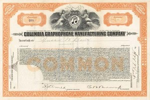 Columbia Graphophone Manufacturing Co